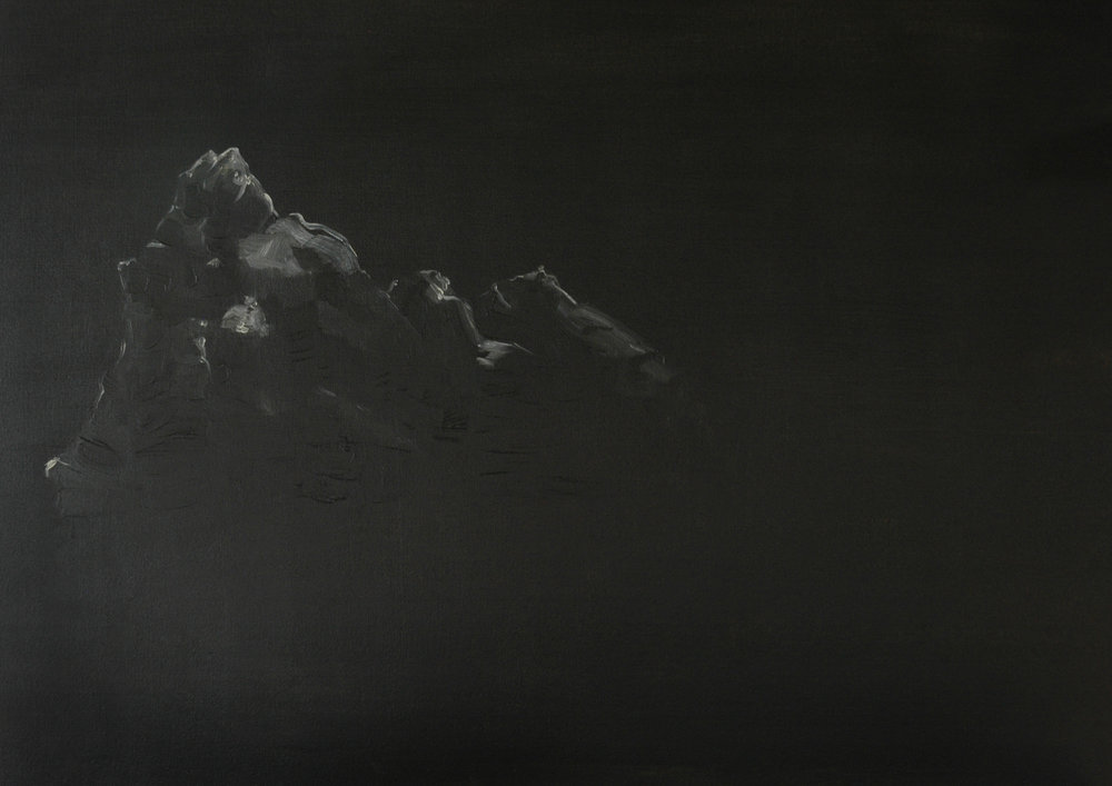 Damien Flood, Summit, 2009, Oil on canvas, 71 x 91 cm
