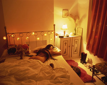 Rat in Bed (2003) Lambada print 121.9 x 152.4 cm