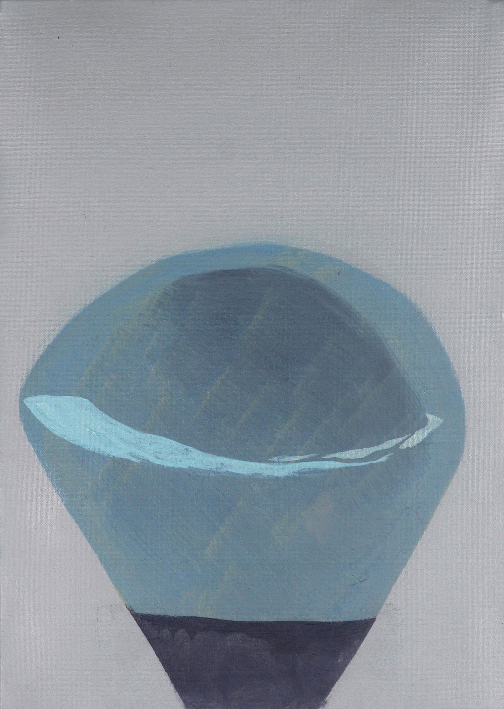 Pin Head, 2013, Oil on canvas, 35 x 25 cm