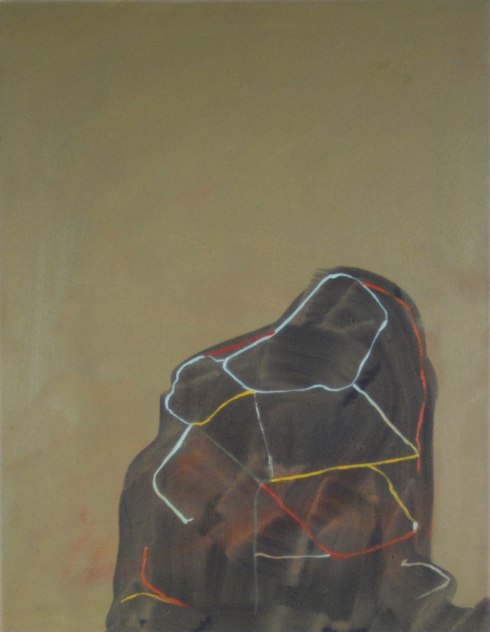 String, 2013, Oil on canvas, 40 x 30 cm