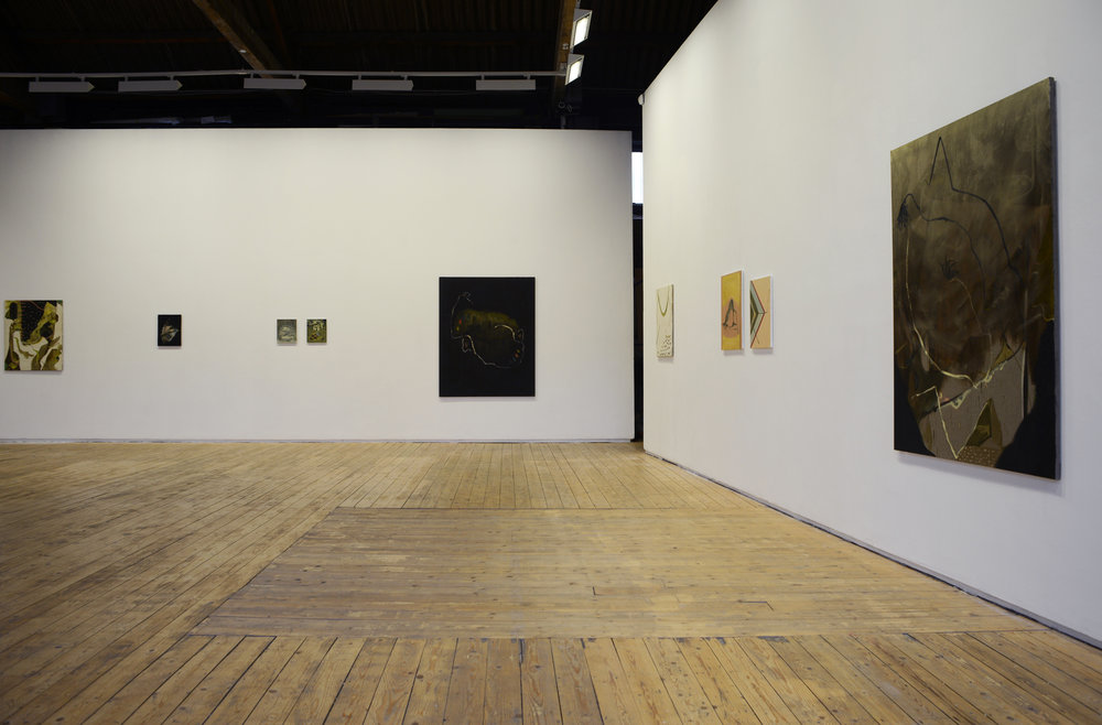 Installation, Green On Red Gallery 2014