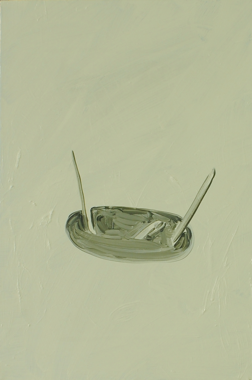 Antenna, 2011, Oil on cotton, 40 x 60 cm
