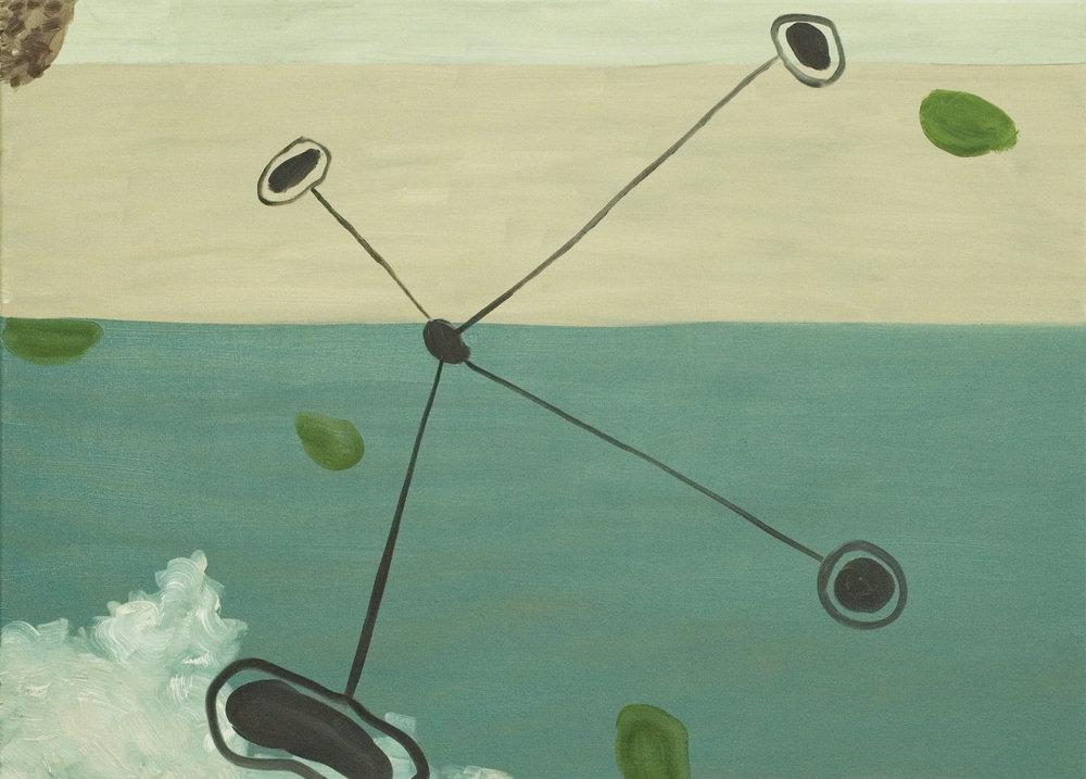 Grasp, 2009, Oil on canvas, 66 x 91.5 cm