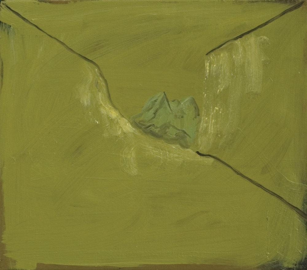 Far Away Valley, 2009, Oil on canvas, 35 x 40 cm