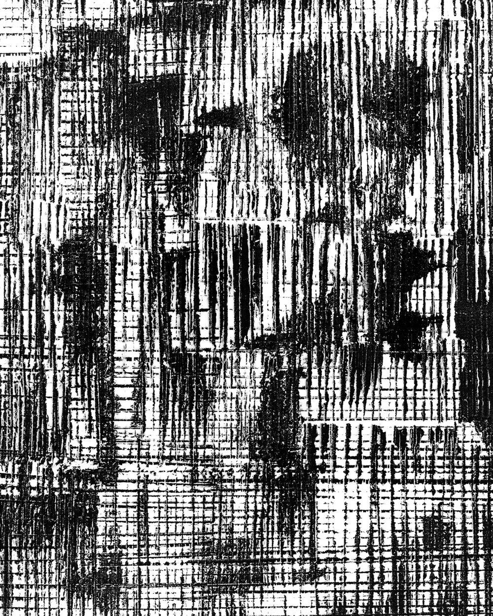 Joyce (2018). Unique photogram, selenium-toned, gelatin silver print, 51cm x 41cm.