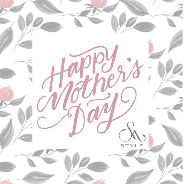 Happy Mother's Day Weekend to all the mamas out there from the Shannon Michael Style Team! ❤️❤️❤️ #happymothersday❤️