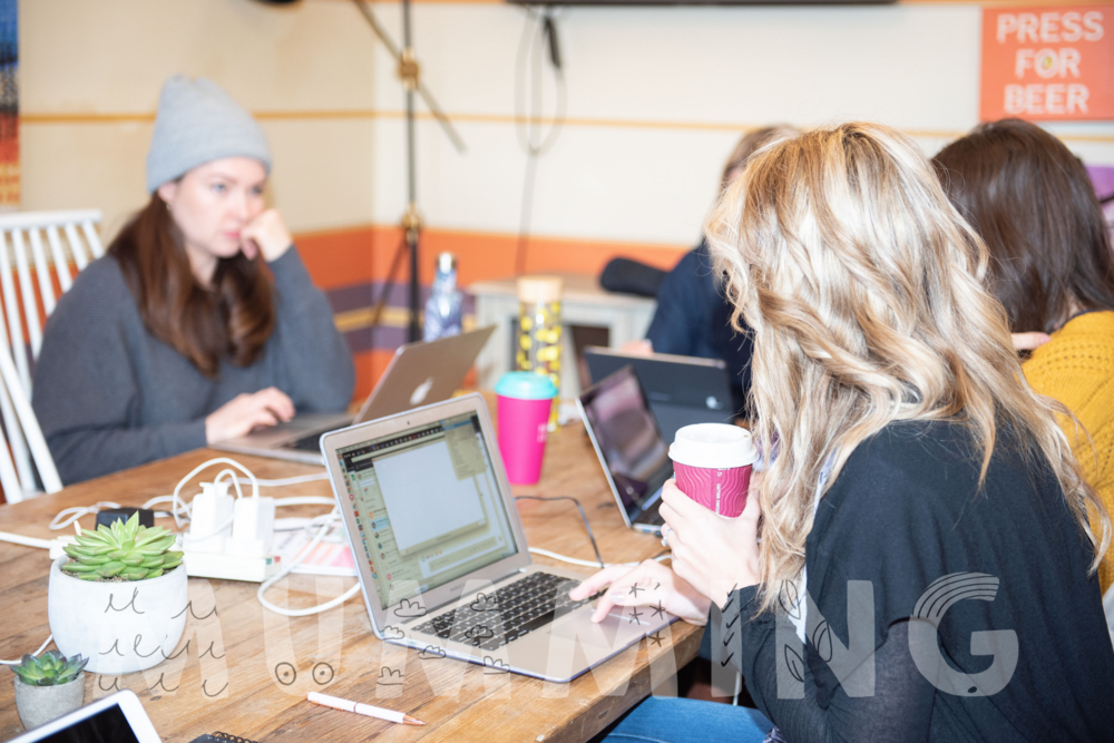 Upcoming Co-Working Sessions - Including pop-up Crèche
