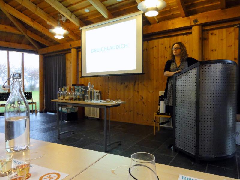 Joanne Brown fra Bruichladdich på Whisky Fagmesse 2012