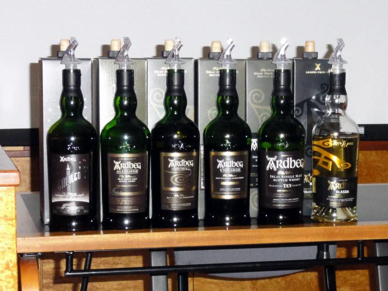 Førstelaget til Ardbeg - Oslo Whiskyfestival 2012