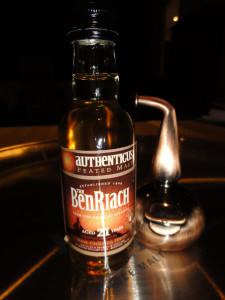 BenRiach Authenticus 21 yo