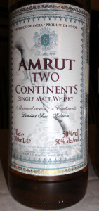 Amrut Two Continents Second Release