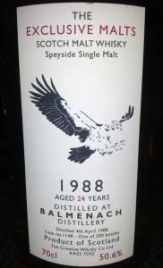 Balmenach 1988 24 YO