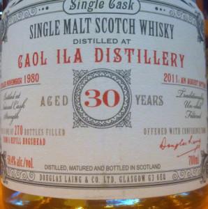 Caol Ila Old & Rare 1980