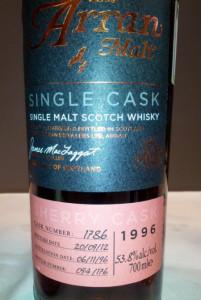 Arran Premium Single Sherry Cask 1996