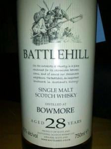 Battlehill Bowmore 28 YO