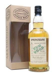 Springbank 1991 Rum Wood