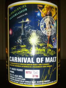 Bruichladdich Carnival of Malt