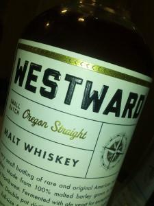 Westward Oregon Straight Malt Whiskey