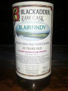 Blairfindy 1988 Blackadder Raw Cask