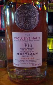 Mortlach 1995 Exclusive Malts