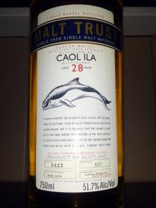Caol Ila 1979 Cask 3422