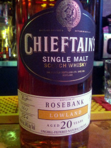 Rosebank 1990 20 YO Chieftain's Choice
