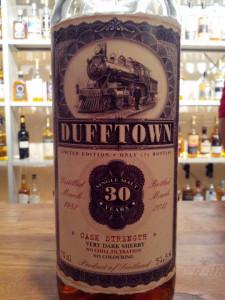 Dufftown 30 YO Old Train Line