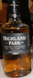 Highland Park Ambassador's Choice