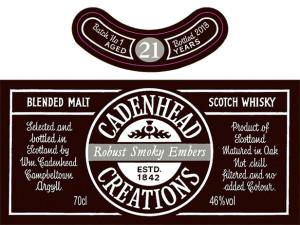 Cadenhead Creations Robust Smoky Embers