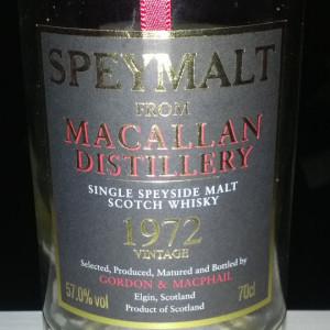 Macallan Speymalt Ping 3