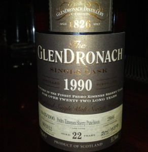 GlenDronach 1990 22 YO Single Cask