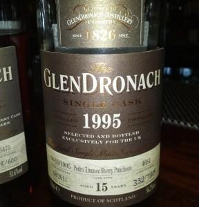 GlenDronach 1995 15 YO Single Cask
