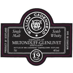 Miltonduff-Glenlivet 19 YO Small Batch