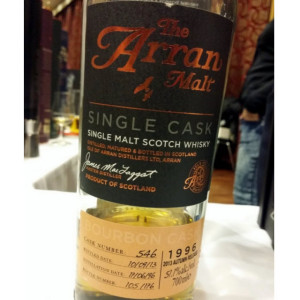Arran Premium Single Bourbon Cask 1996 Cask 546