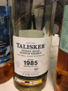 Talisker 1985 27 YO Maritime Edition