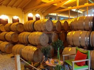 SLYRS - the Bavarian Distillery - barrels