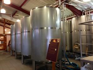 SLYRS - the Bavarian Distillery - fermentation tanks