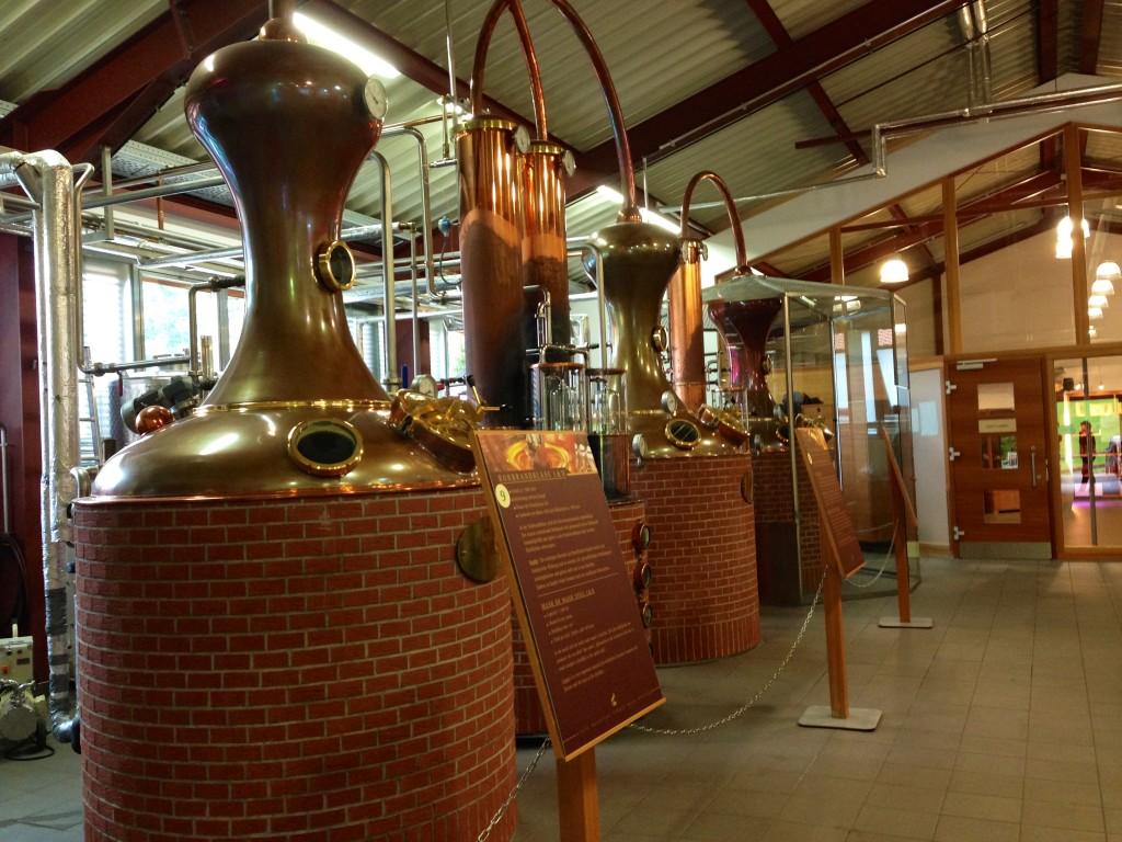 SLYRS - the Bavarian Distillery - stills