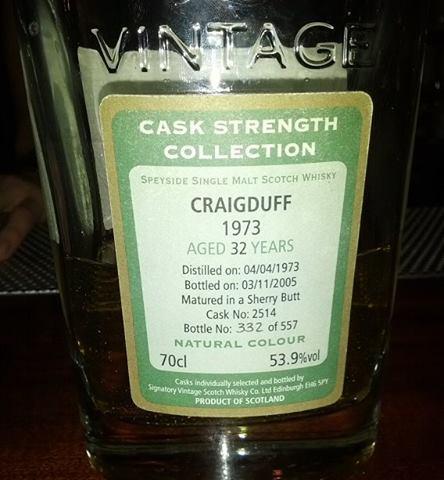 Craigduff 1973 32 YO Signatory
