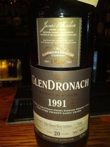 GlenDronach 1991 20 YO Single Cask
