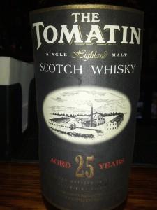 Tomatin 1966 25 YO