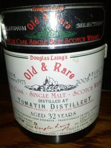 Tomatin 1975 32 YO Old & Rare Douglas Laing