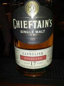 Clynelish 1991 17 YO Chieftain's Choice
