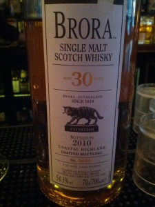Brora 30 YO 8th release bottled 2010