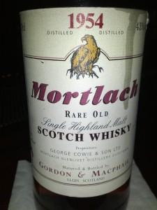Mortlach 1954 54 YO Gordon & Macphail