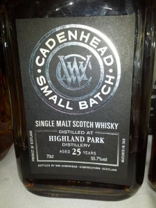 Highland Park 1988 25 YO Cadenhead's Small Batch