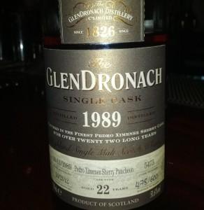 GlenDronach 1989 22 YO Single Cask