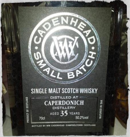 Caperdonich 35 YO Cadenhead Small Batch