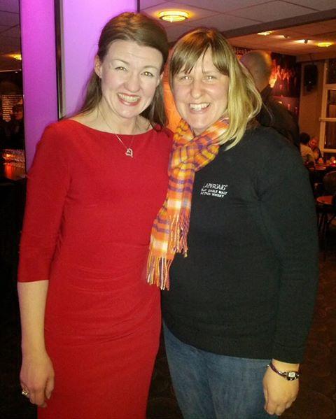 Laphroaig-tasting with Vicky Stevens in Bergen