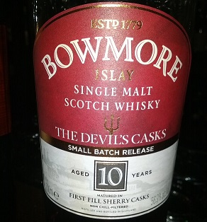 Bowmore 10 YO The Devil's Casks